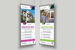 Real Estate Roll up Banner Signage v2 Product Image 4