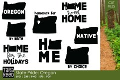 Oregon SVG and Cut Files for Crafters Product Image 1