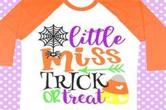 Halloween svg, Trick or treat svg, Girl halloween shirt svg Product Image 1