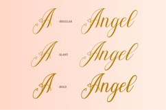 Young Angel Calligraphy Font Product Image 5