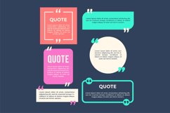 Collection quotes of vintage style frame template Product Image 1