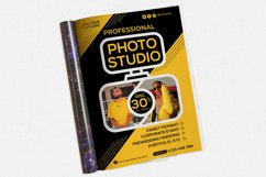 Photography Studio #01 Print Templates Pack Product Image 2