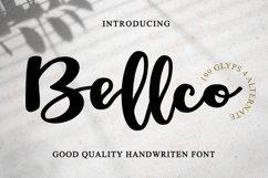 Bellco -Handwritten Font Product Image 1