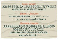 Big Wave Layered Font Product Image 4