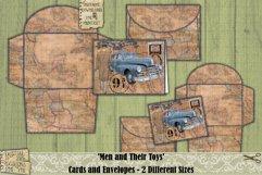 Vintage Cars | Cards | Envelopes | Masculine | Printable Product Image 6