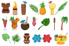 Tiki Clipart Product Image 1
