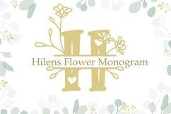 Hilens Flower Monogram Product Image 1