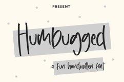 Humbugged - Fun Handwritten Font Product Image 1