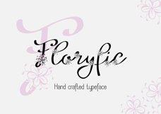 Floryfic font Product Image 1