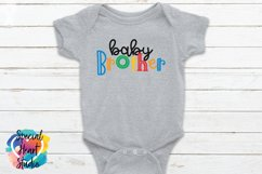 Baby Brother - A family and sibling SVG Product Image 1