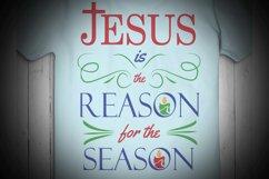 Jesus is the reason for the season, christmas, Christmas Svg Product Image 2