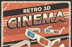 Retro Cinema Movie TV Show Poster Product Image 4