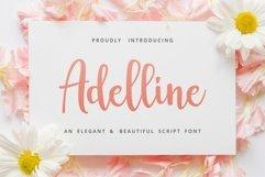 Adelline   beautiful elegant font Product Image 9