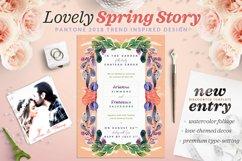 Lovely Spring Story Invite I Product Image 1