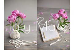 Vintage background, hand made Product Image 3