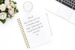 FONT DUO Handwritten Cursive handwriting Script - Posch Product Image 4