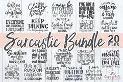 Sarcastic SVG Bundle | Funny SVG Cut Files | Shirt Bundle Product Image 1