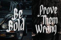 Gouvar - Handdrawn Blackletter Font Product Image 6