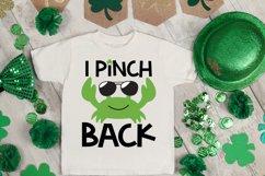 I Pinch Back SVG, St Patrick's Day SVG, Crab SVG Product Image 4