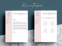 Professional Creative Resume Template - Alice Morgan Product Image 7