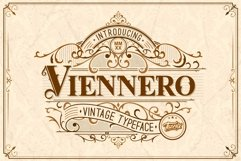 Viennero Vintage Typeface Product Image 1