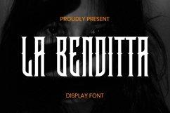 LaBenditta Font Product Image 1