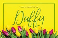Daffy Font Product Image 1