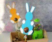Lollipop holder template, candy holder, easter gift Product Image 4