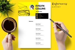 Modern Resume CV Template for Word & Pages Evelyn Collins Product Image 6