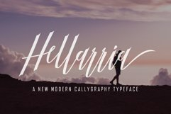 Hellarria Script Product Image 1