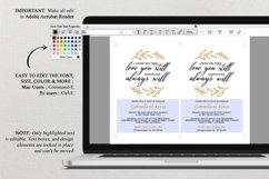 Renew Vows Invitation Template, Anniversary Invite Product Image 4