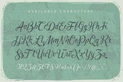 Rusted brushpen script + bonus Product Image 2