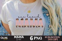 Mama Sublimation Bundle, Mama PNG Sublimation Product Image 3