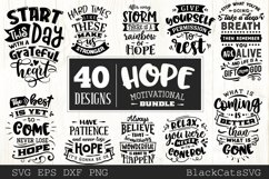 Hope motivational Bundle SVG bundle 40 designs Product Image 3