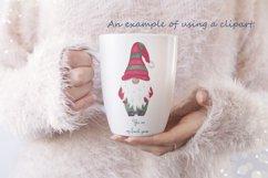 Watercolor scandinavian gnomes png Product Image 6