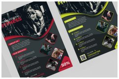 Fitness Flyer Templates Product Image 2