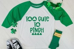 Web Font Feelin' Lucky - A St. Patrick's Day Font Product Image 4