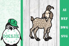 Farm Animal bundle 3d svg layered Multi layer mandala farm Product Image 8