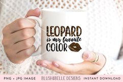Leopard is My Favorite Color- PNG, JPG Product Image 2