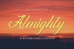 Web Font Almighty Product Image 1