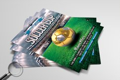 Soccer Cup | Modern Flyer Template Product Image 3