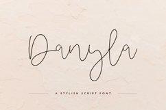 Danyla Stylish Signature Font Product Image 1