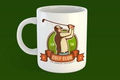 Golf Retro Logo Set Product Image 4