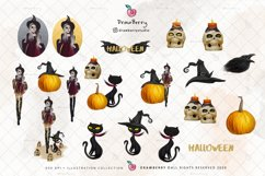 Halloween Graphics Witch Pumpkin Clipart | Drawberry CP049 Product Image 2