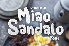 Miao Sandalo Display font Product Image 1