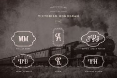Web Font Victorian Monogram Font Product Image 3