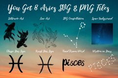 Pisces Zodiac, Constellation, Horoscope, Celestial Pack Product Image 2