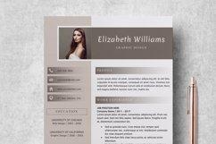 Resume Template   CV Cover Letter - Elizabeth Williams Product Image 2
