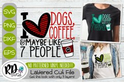 Trendy Dog Mom Bundle - Set of Layered Cricut SVG Cut Files Product Image 3