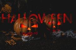 Crazy Brush Halloween Font Product Image 2